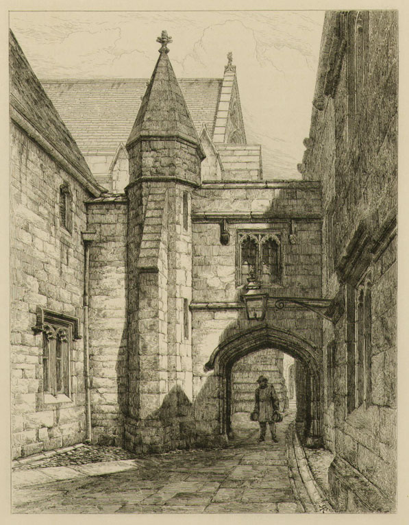 Figure In An Archway