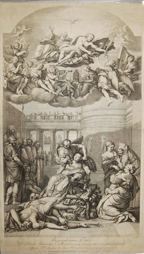 The Martyrdom of St. Agnes
