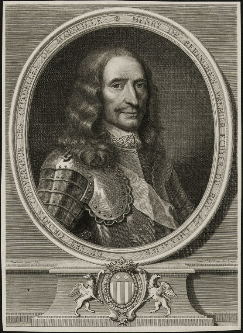 Portrait of Henry de Beringhen