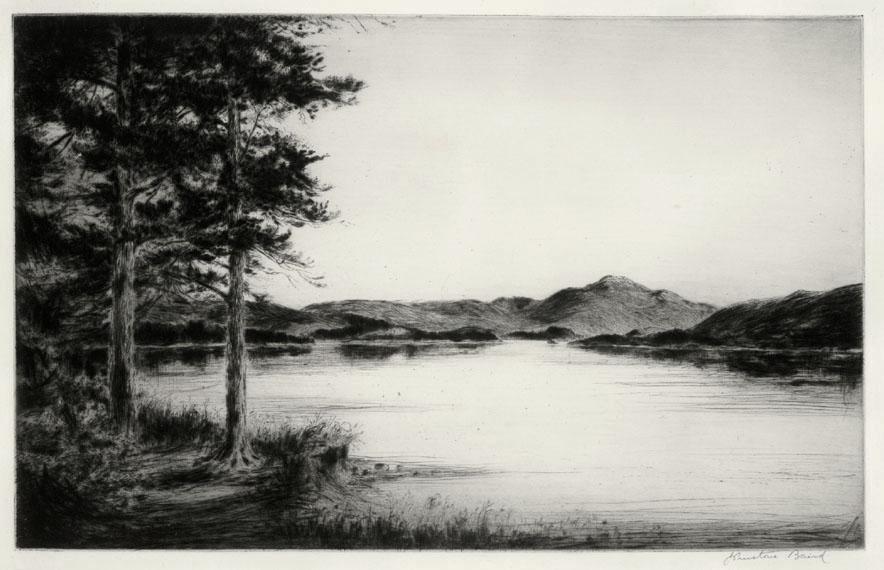 Loch Landscape, Scotland