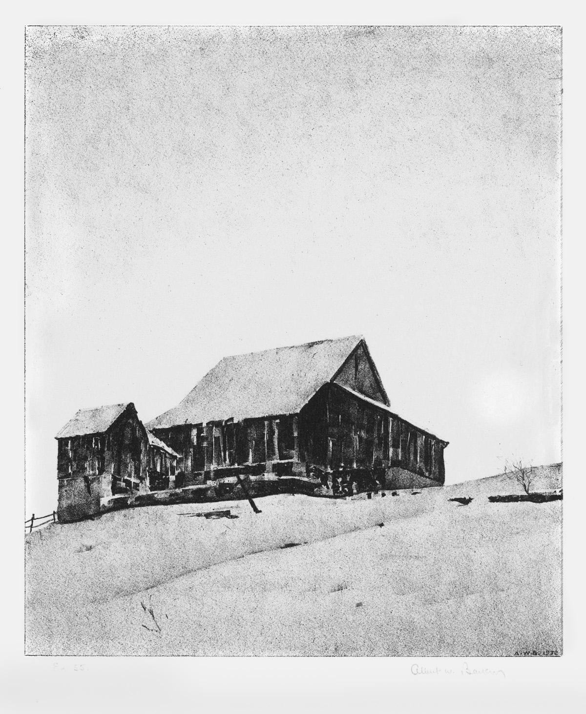 Upper Barn, Winter