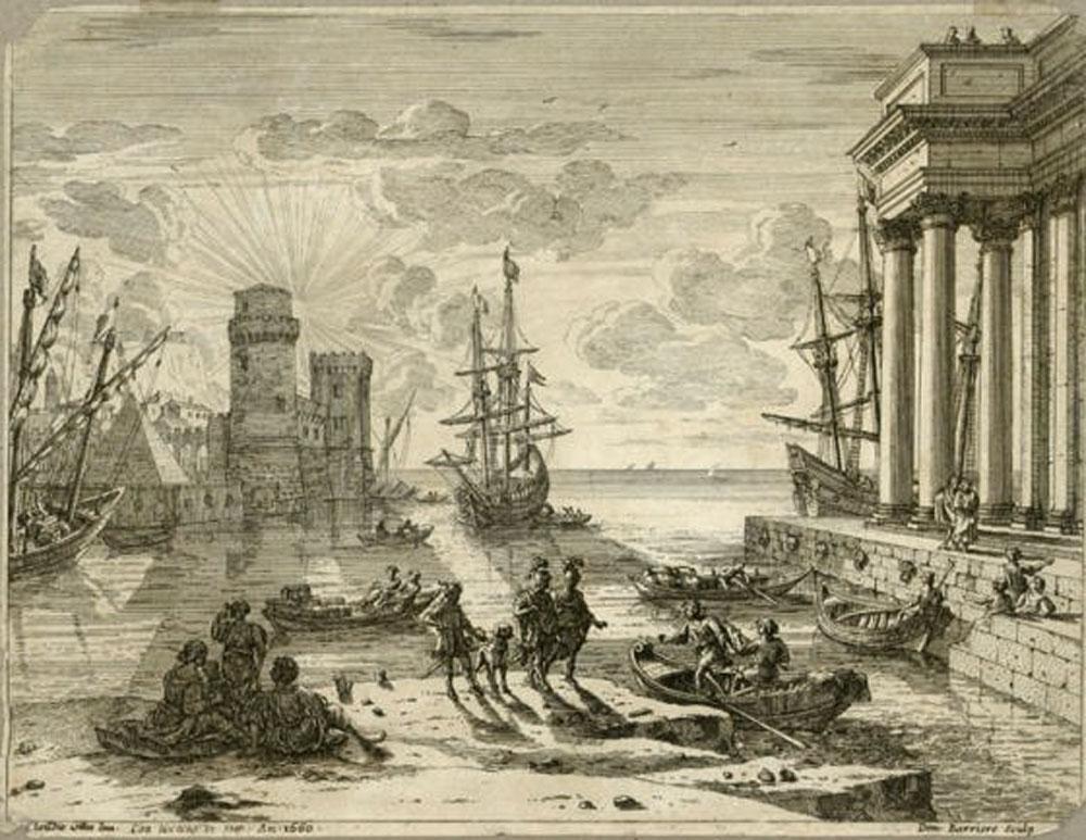 Claudius entering Galilee
