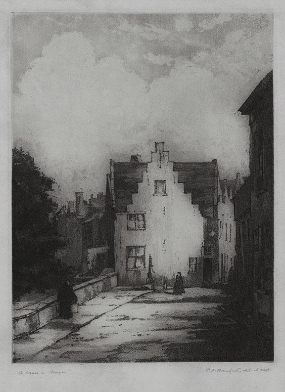 A Corner in Bruges