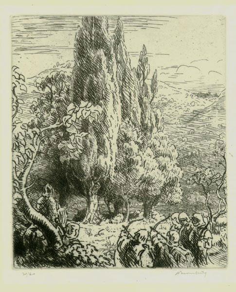 Le Martyr of St.Sebastien
