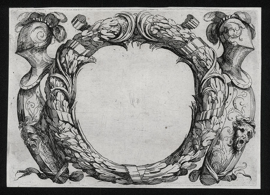 Cartouche With Shields