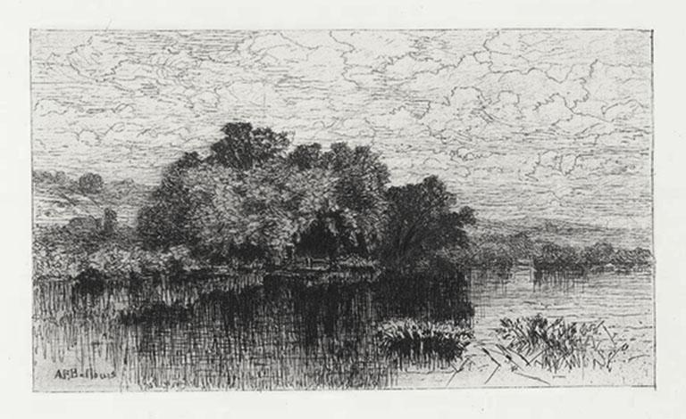 Mill Pond , Windsor, CT. or July