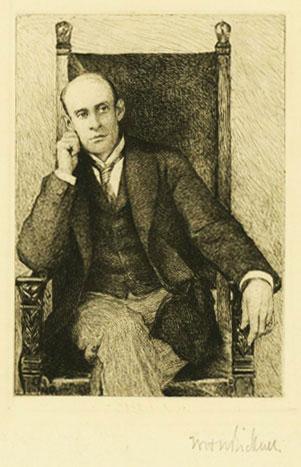 Portrait of Eugene Field