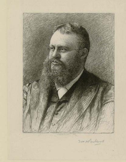 Portrait Of John Fiske