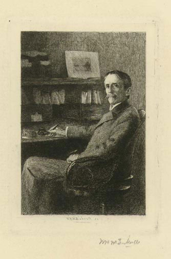 Portrait Of Frank Stockton