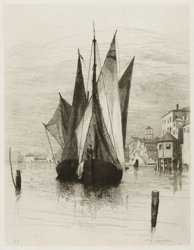 Venetian Fish Boats