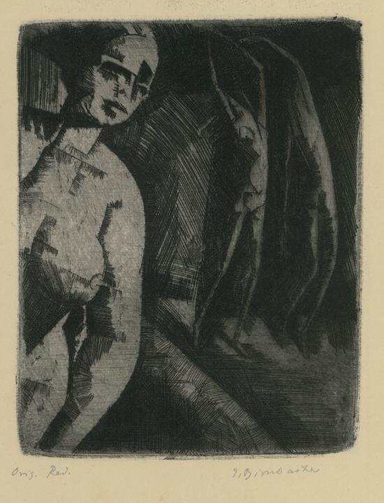 Expressionist Figure Study