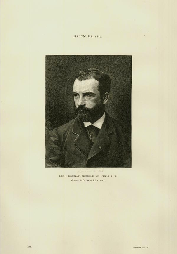 Leon Bonnat, Membre de L'Institut