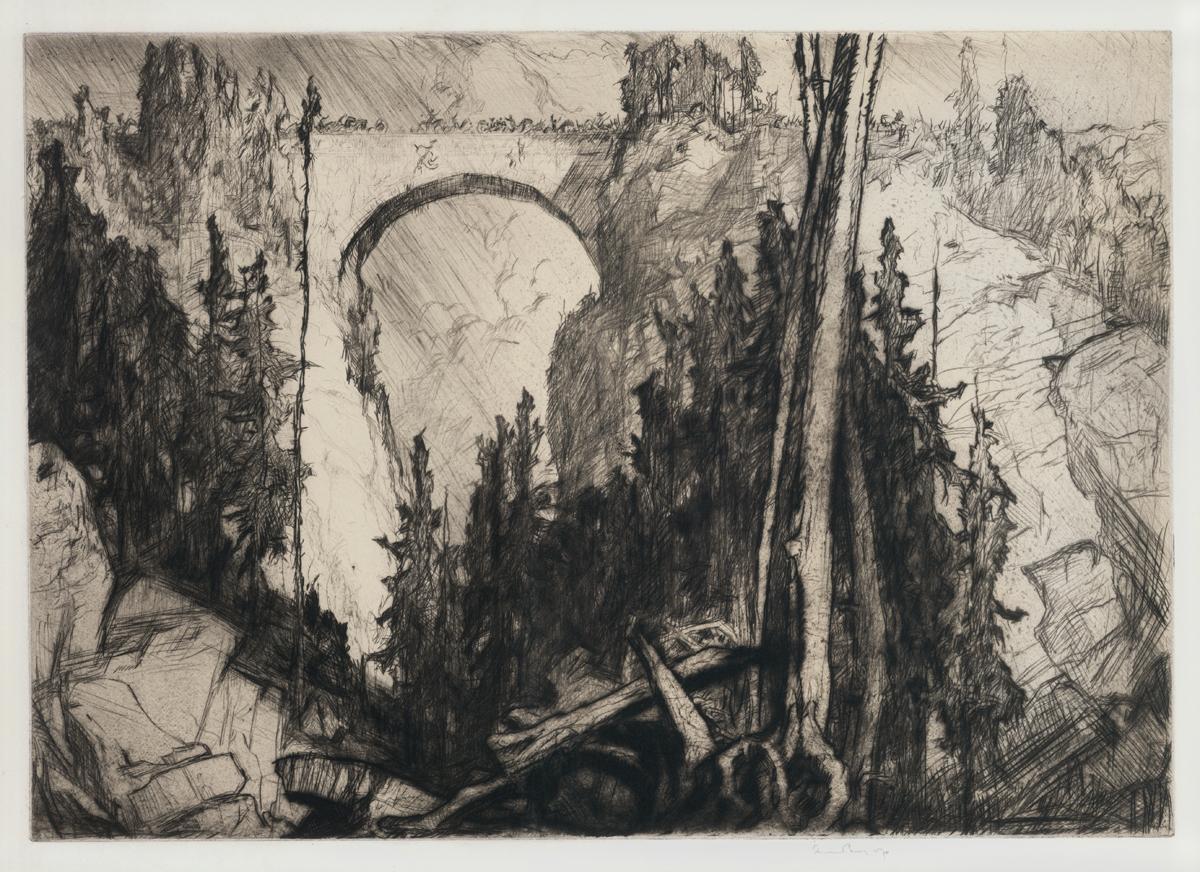 An Alpine Bridge