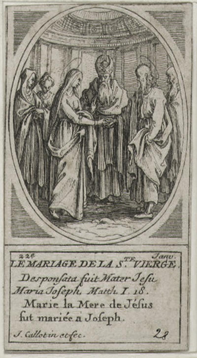 Le Mariage de la Saint Vierge