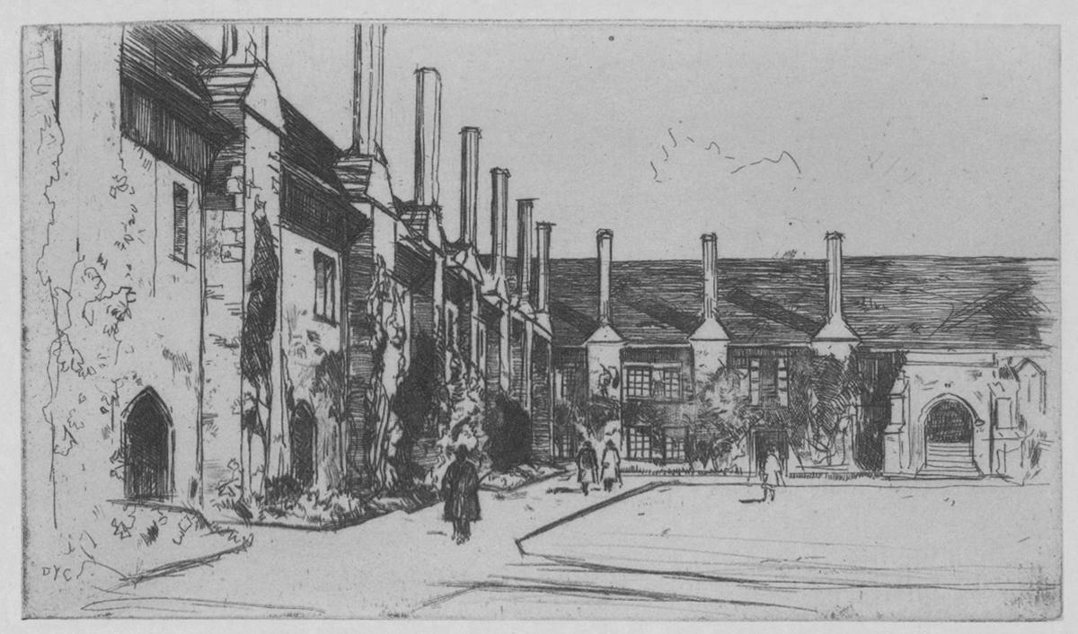 Almshouse St. Cross