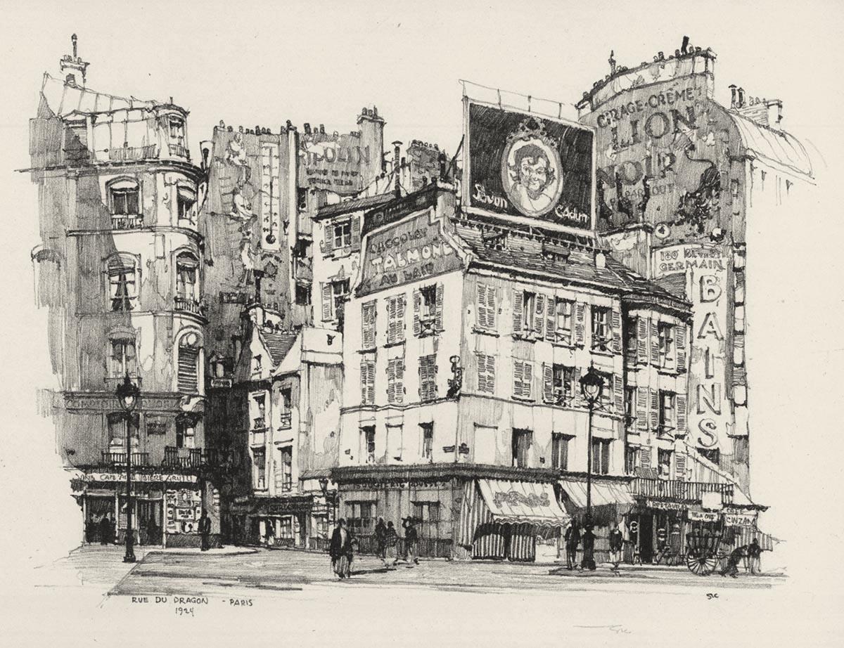Cour du Dragon, Paris
