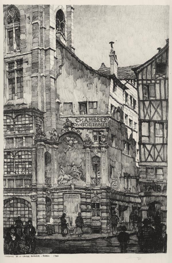 Fontaine de la Grosse Horlage, Rouen