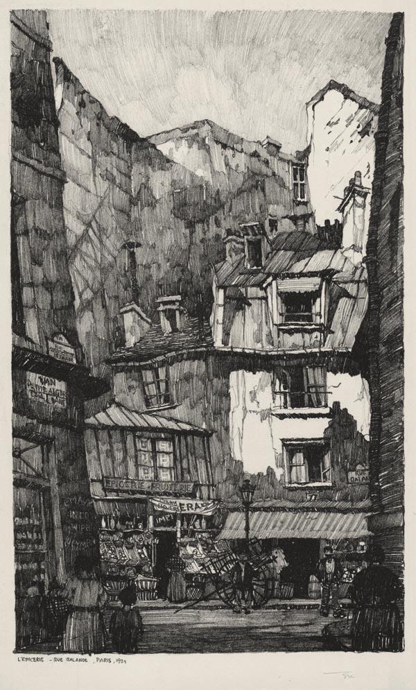 L'Epicerie, Rue Galande, Paris
