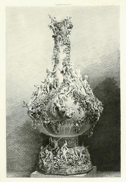 The Vine Vase In Bronze
