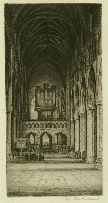 Exeter - Cathedral Interior