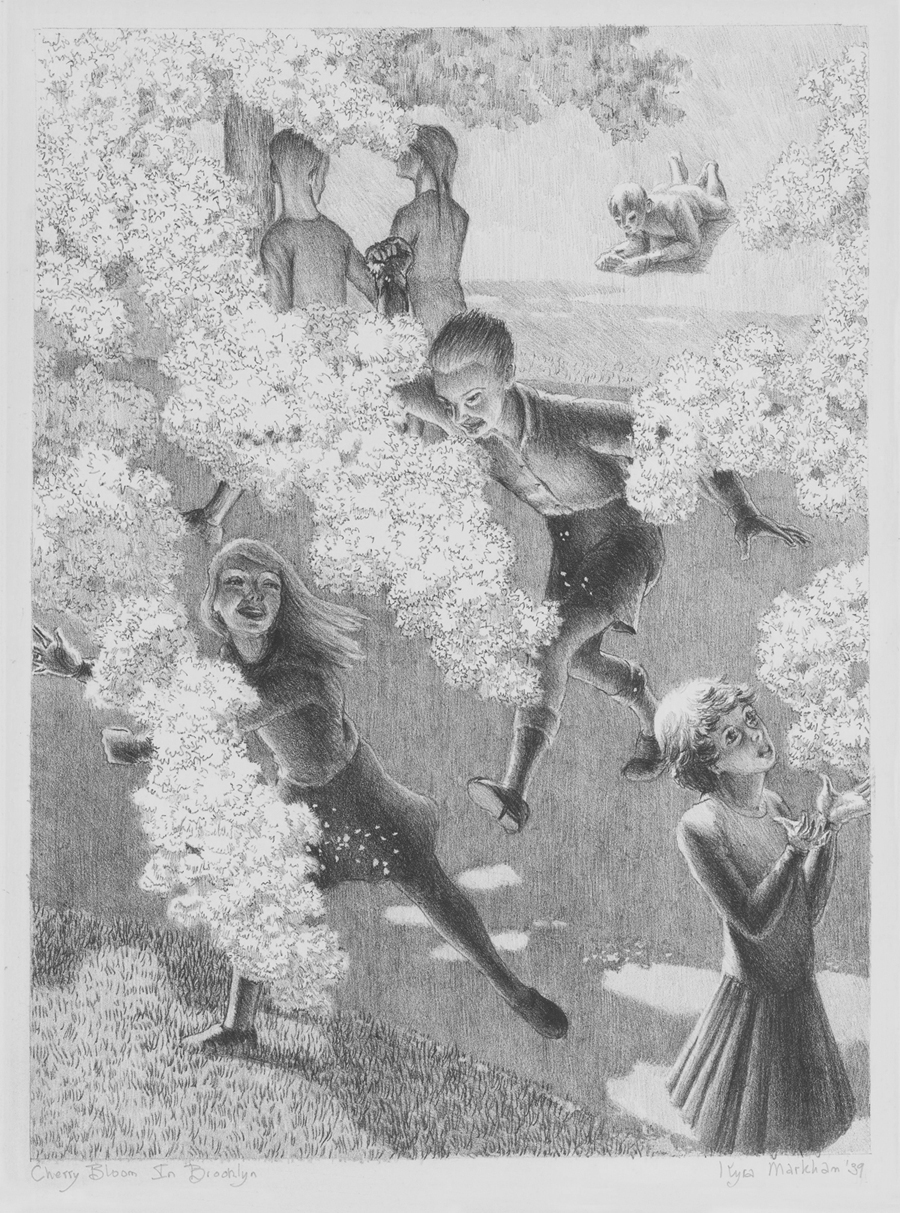 Cherry Bloom in Brooklyn, 1937