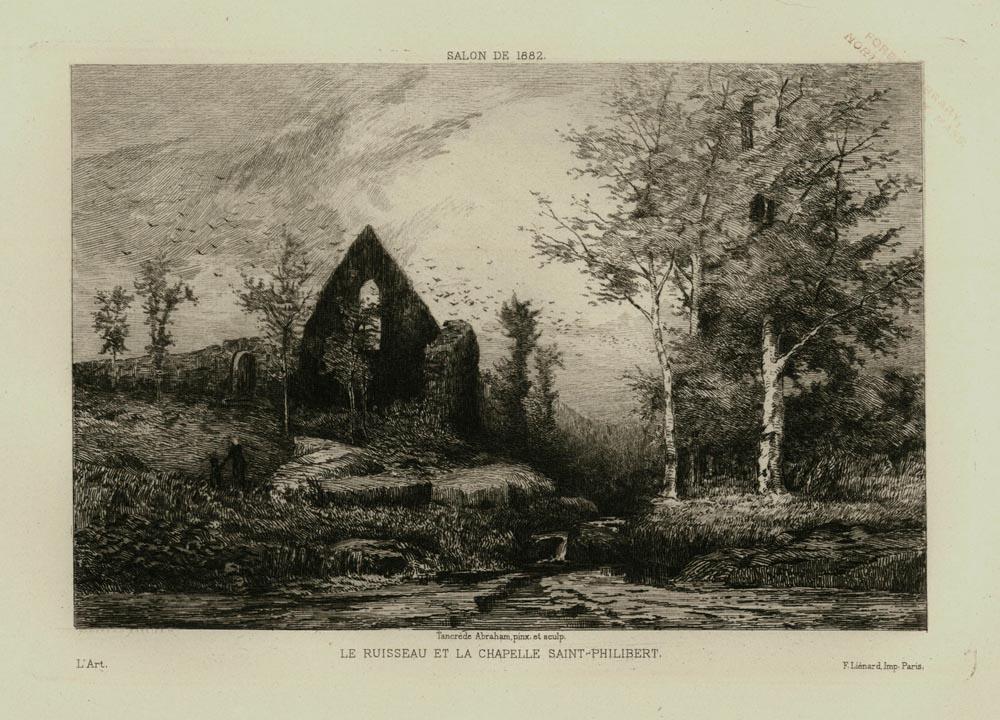 Le Ruisseau et la Chapelle Saint Philibert