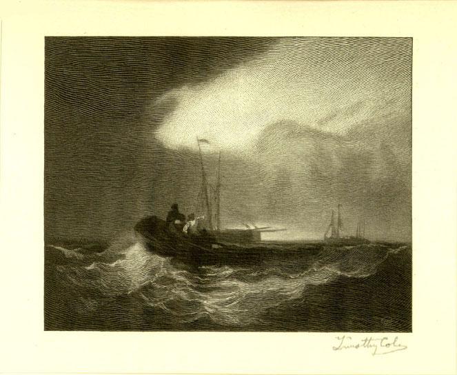 Fishing Boats off Yarmouth