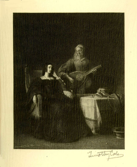 Catharine of Aragon and her Maid