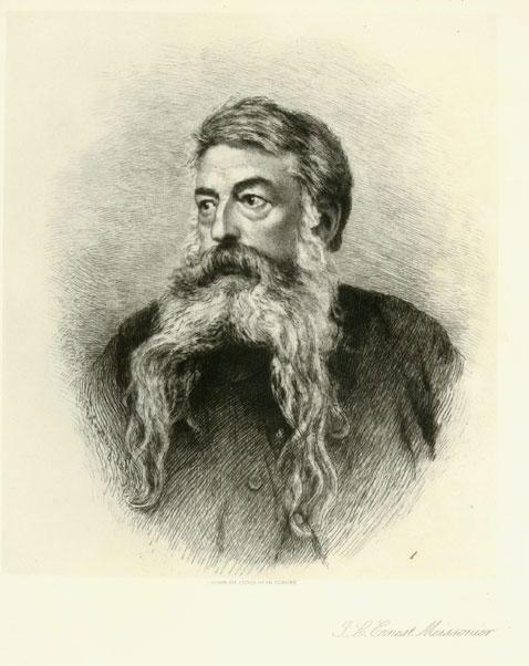 Portrait Of J. L. Meissonier