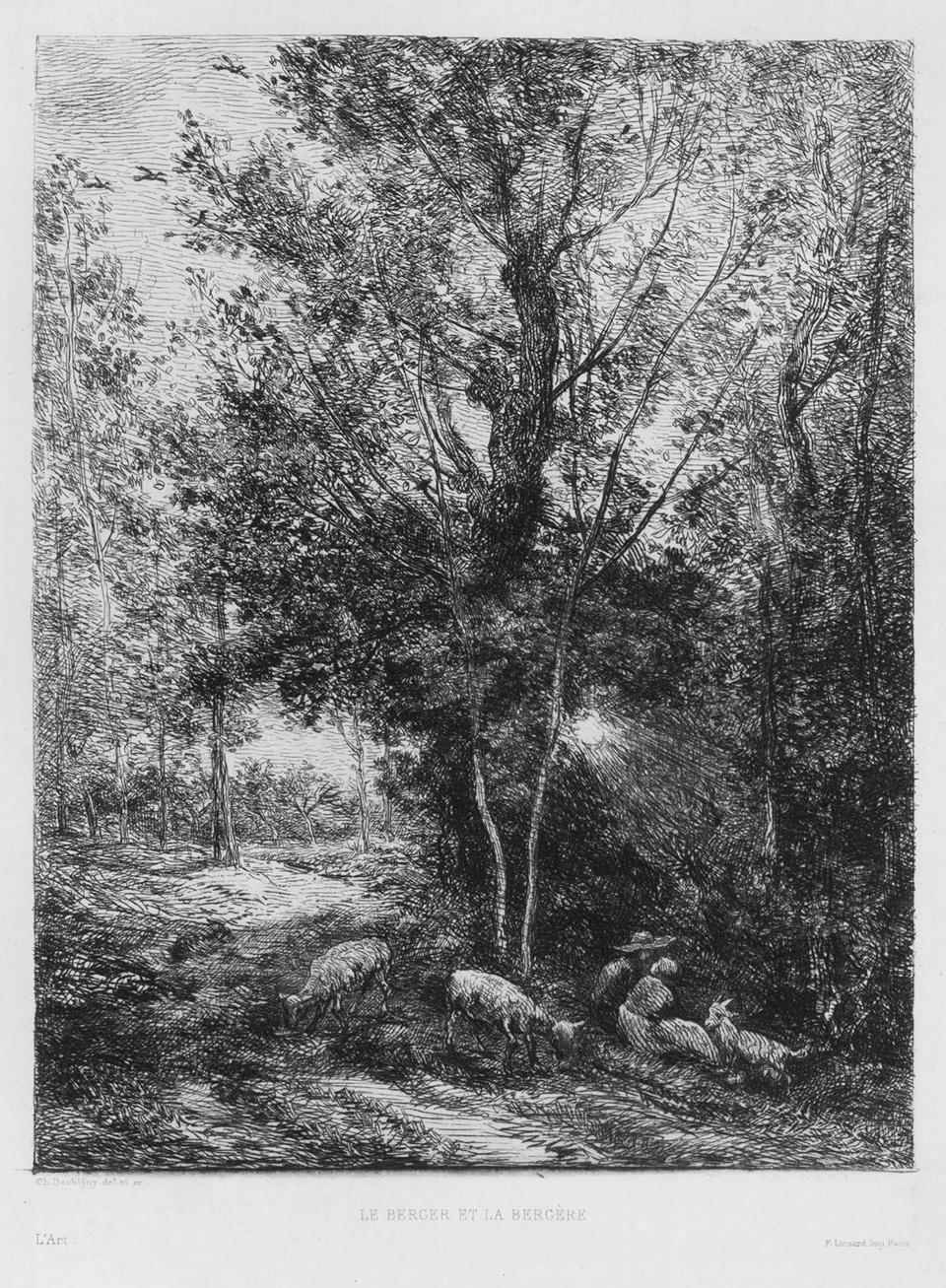 Le Berger et la Bergère ( The Shepherd and the Shepherdess)