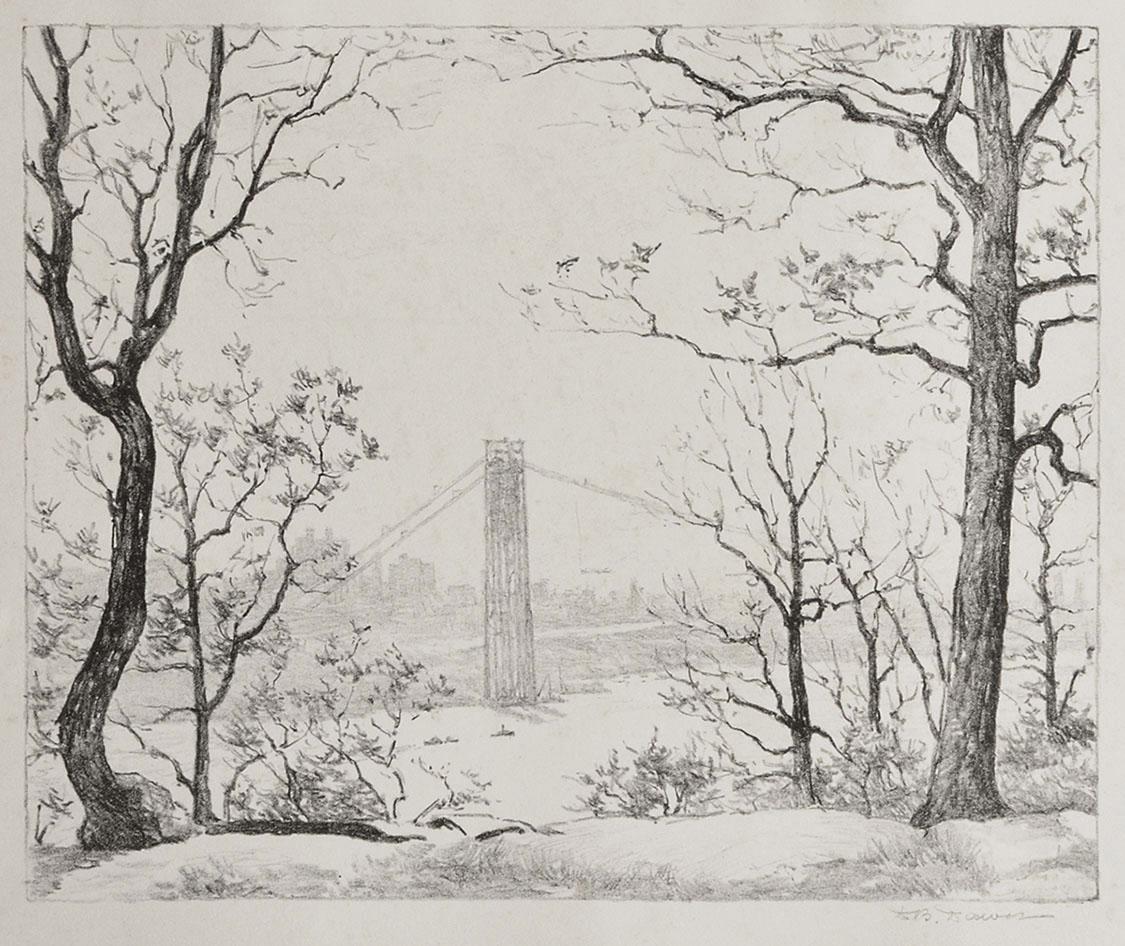 George Washington Bridge Construction