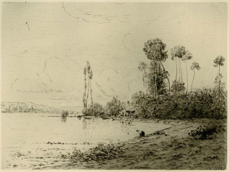 La Seine, Pres de Vernon