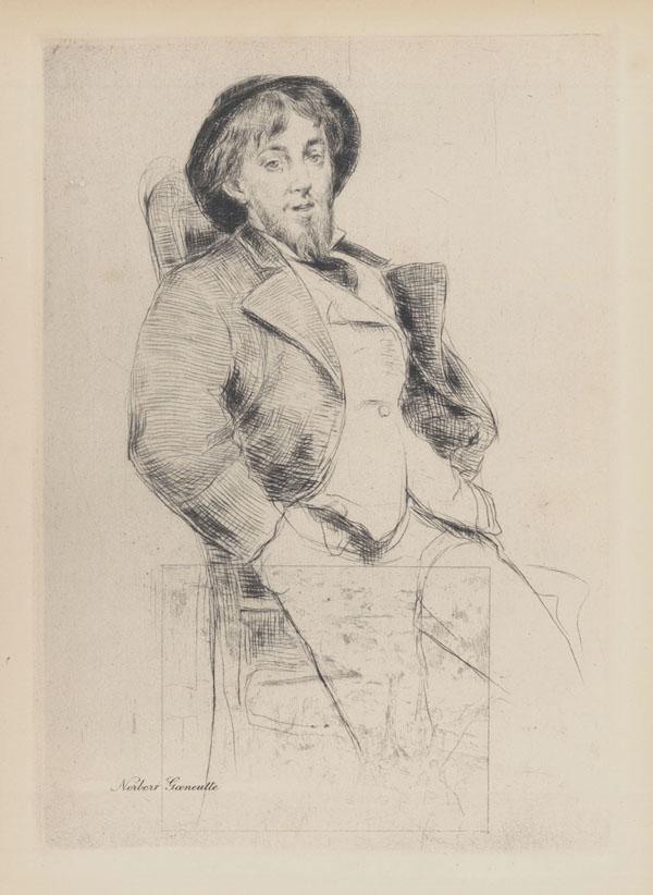 Portrait of Norbert Goeneutte