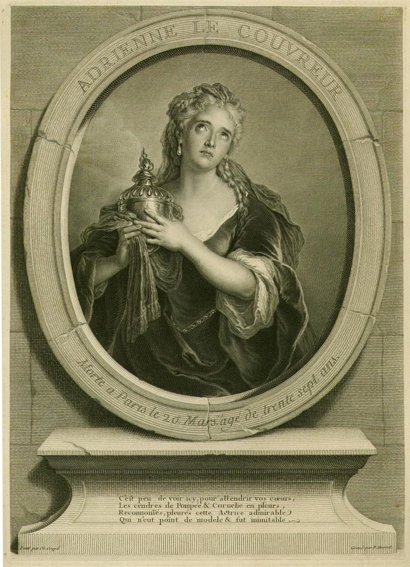 Le Couvreur, Adrienne, as Cornelia