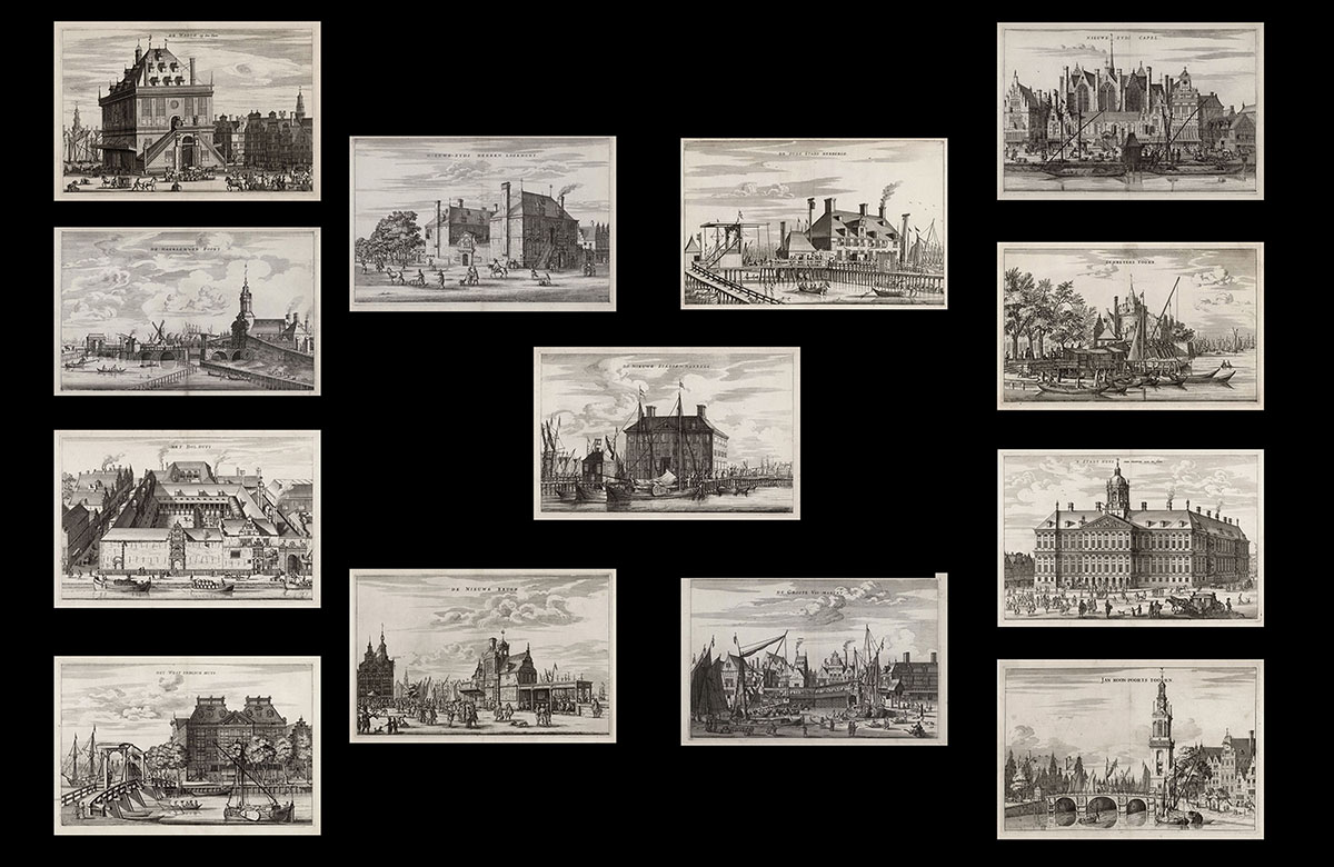 Series of Dutch Townscapes