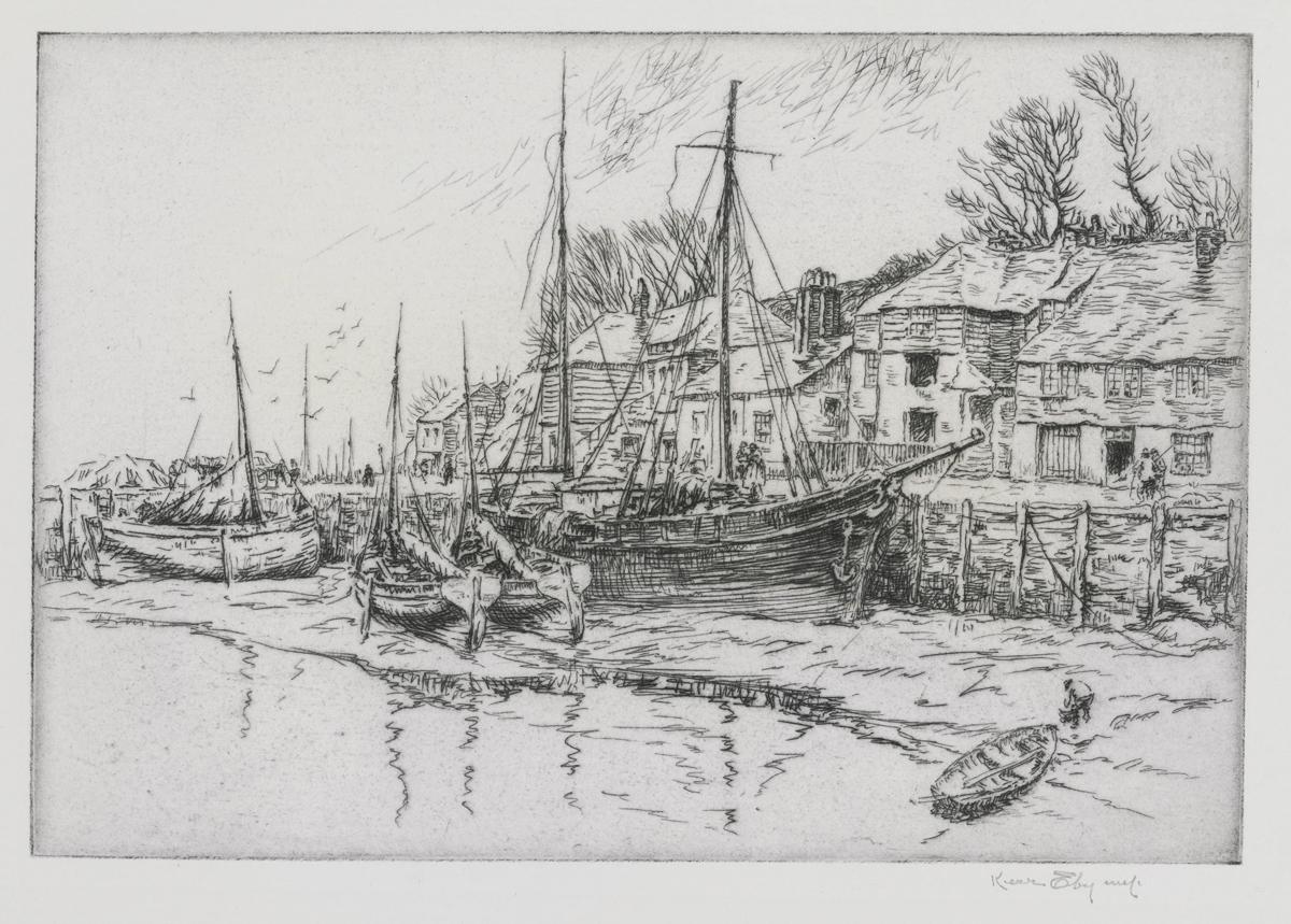 Boat Houses, Polperro, No. 3