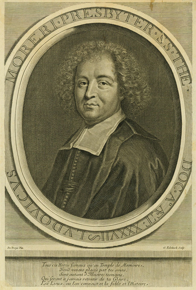 Louis Moreri, Doctor of Theology