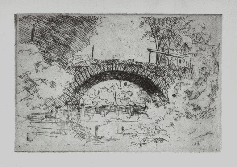 Arch Bridge Landscape