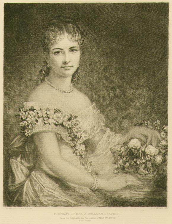 Portrait of Mrs. J Coleman Dayton
