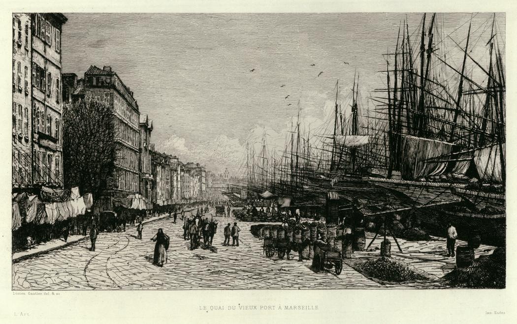 Le Quai du Vieux Port a Marseille