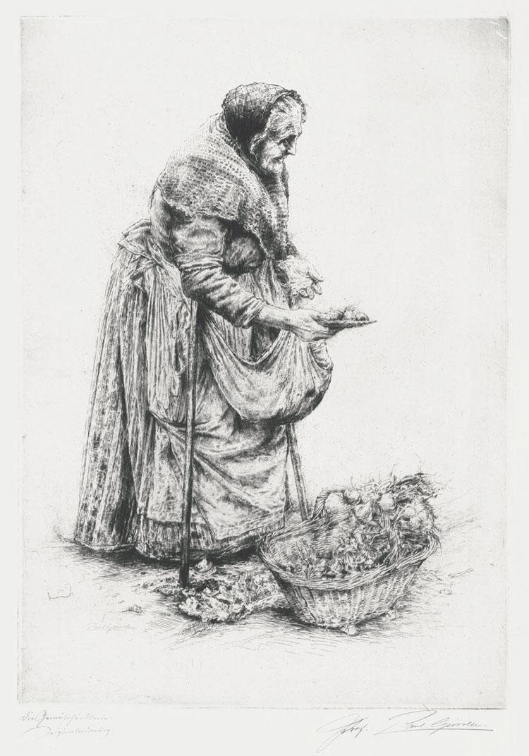 Gemuse Frau