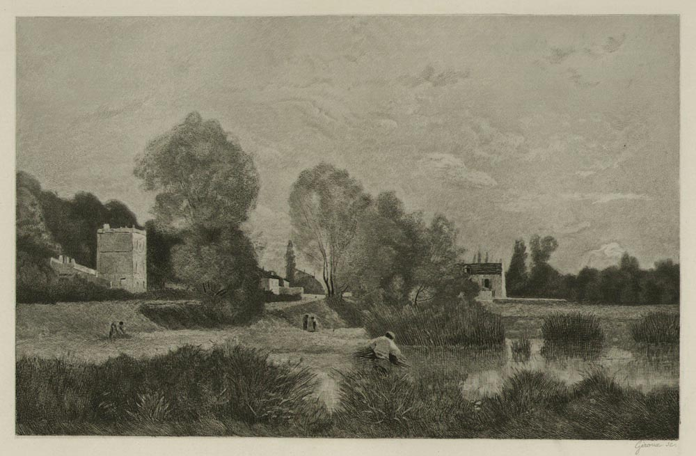 The Pond at Ville - d'Avray