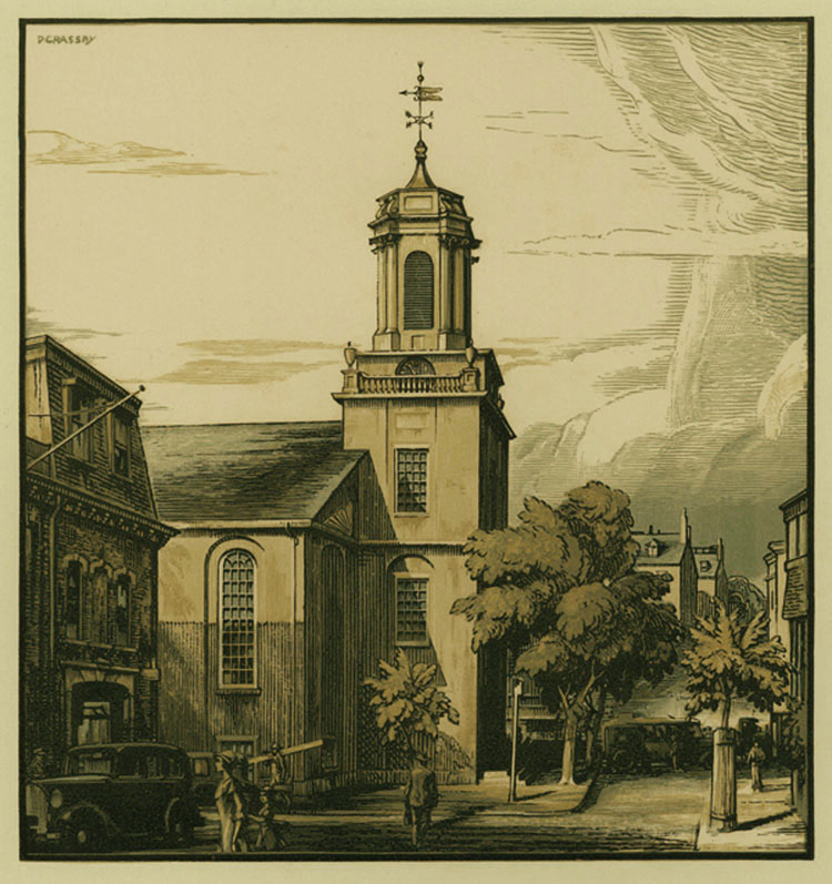 A New England Church