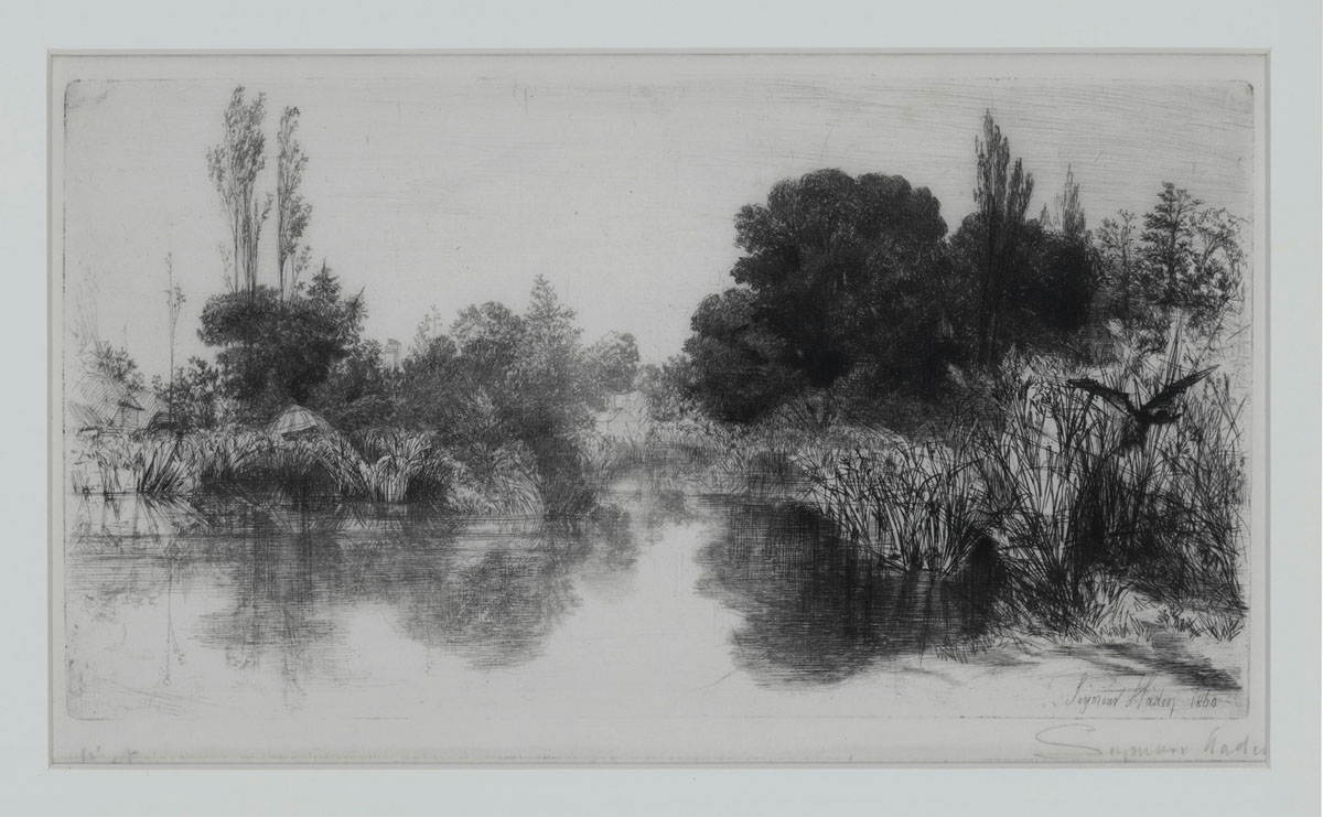 Shere Mill Pond, No. II