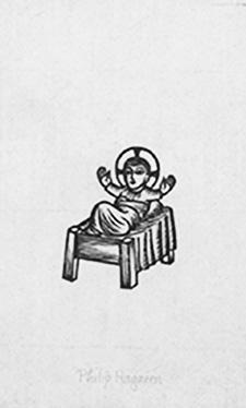 Christ Child Bookplate