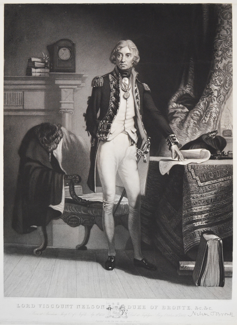 Lord Viscount Nelson, Duke of Bronte