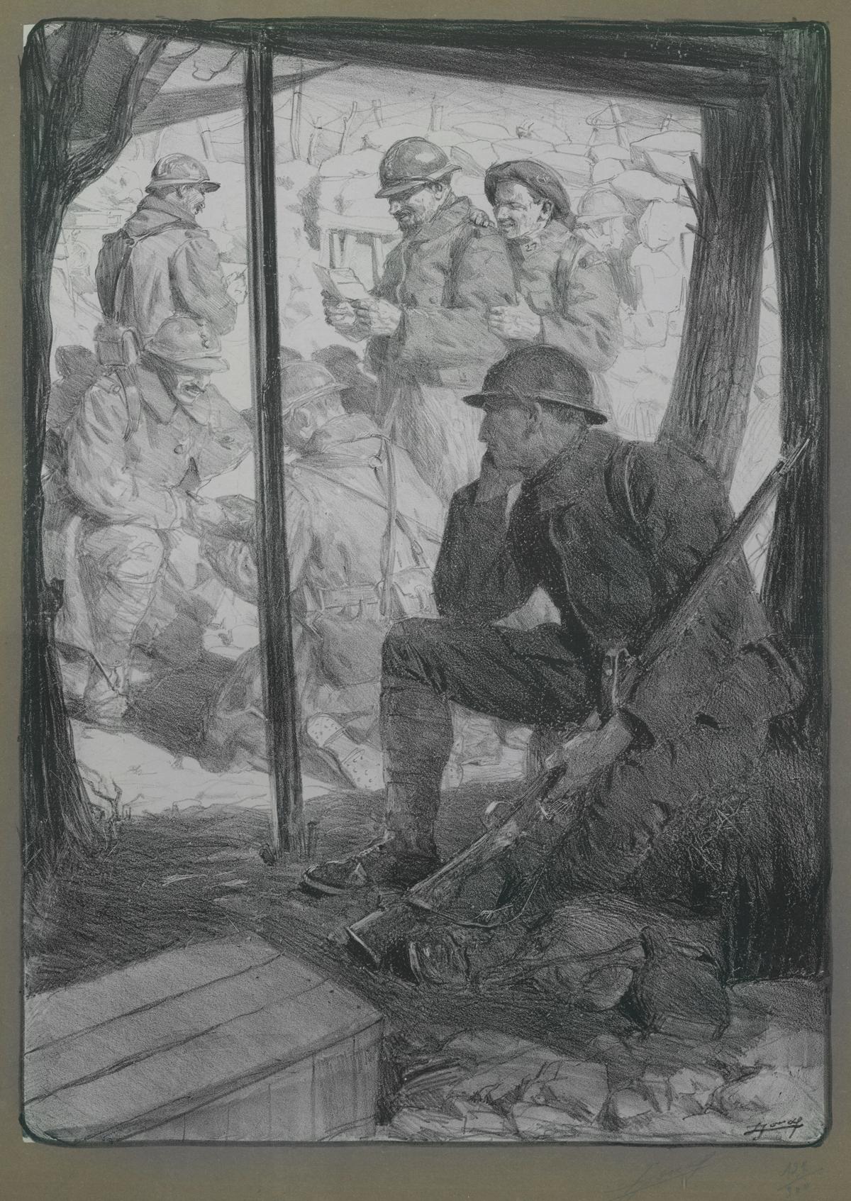 Le Soldat des Régions Envahies