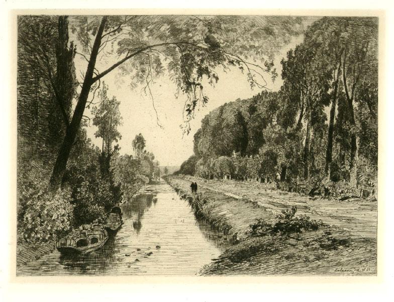 Le Canal a Pont-Sainte-Maxence