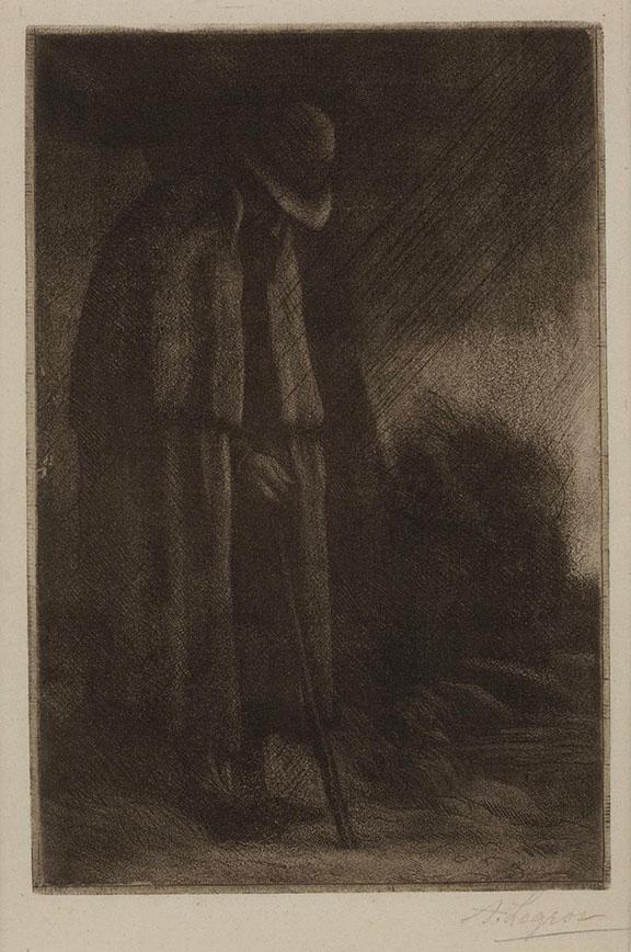 Le Voyageur a l'Abri  (The Sheltering Traveller)