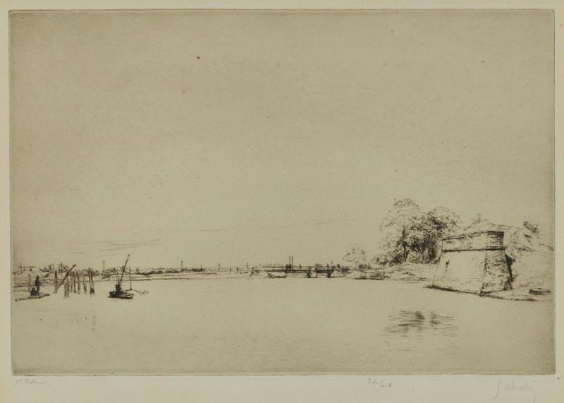 Le Pont de Bonnemort a La Rochelle